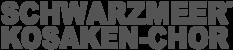 Logo Schwarzmeer Kosaken Chor - Nicht Don Kosaken