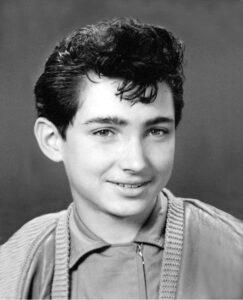 Peter Orloff als Jugendlicher