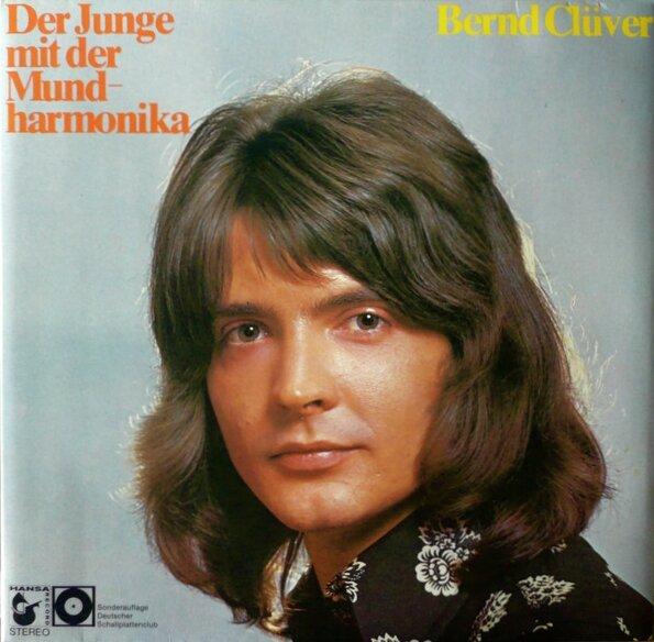 CD - Bernd Clüver - Der junge mit der Mundharmonika