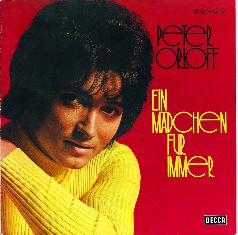 Album - Peter Orloff - Ein Mädchen für immer