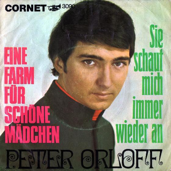 Peter Orloff - CD Album - Eine Farm für schöne Mädchen und Sie schaut mich immer wieder an