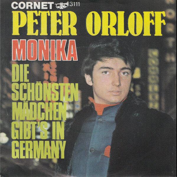 Peter Orloff - CD Album - Monika und Die schönsten Mädchen gibt es in Germany