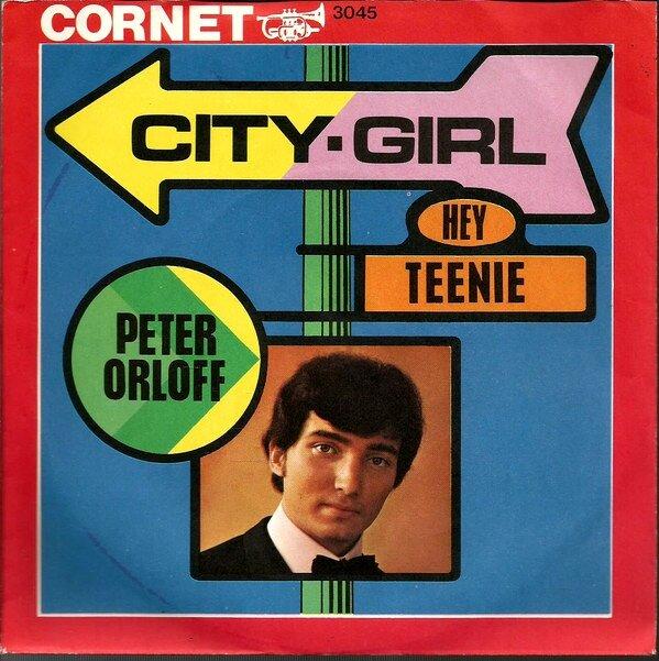 CD Album - Peter Orloff - City Girl